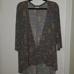 L EUC Lularoe Lindsay kimono